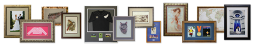 Frame Samples Papakura Picture Framers